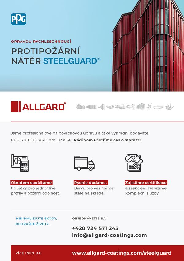 Allgard PPG Steelguard - informační leták